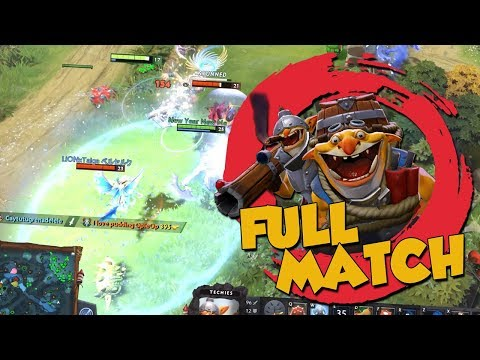Techies is Lowkey MVP - DotA 2 Full Match