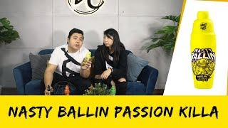 E-Juice Review | Nasty Ballin Passion Killa