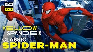 The Evolution of Spider-Man's Classic Costume   Yellow Spandex #28   NowThis Nerd