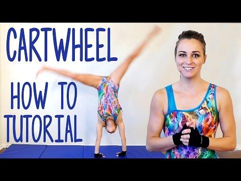 Cartwheel Tutorial! Gymnastics Workout At Home, Flexibility Stretches, Exercise Routine