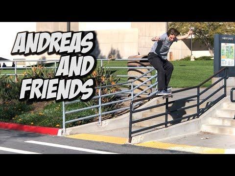 SKATING WITH ANDREAS ALVAREZ AND FRIENDS !!! - NKA VIDS -