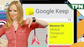 Google Keep Takes On Evernote
