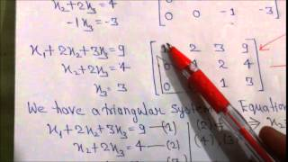 Gaussian Elimination & Gauss-Jordan Eliminatiom and also differences between both method PART-1