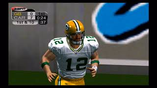 ESPN NFL 2K5 2018 Roster | Week 1 vs Panthers