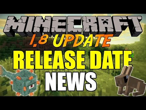 Minecraft 1.8 UPDATE - RELEASE DATE NEWS & ADDITIONS REVIEW!