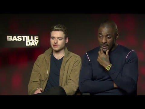 Bastille Day Interview - Idris Elba & Richard Madden