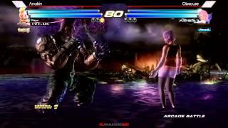 Atlanta FinalRoundBats 12/14 Tekken Tag Tournament 2 Grand Finals Anakin vs Obscure
