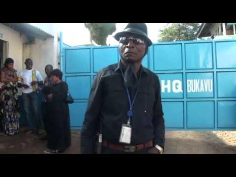 Sud Kivu - Sit in des agents de la MONUSCO