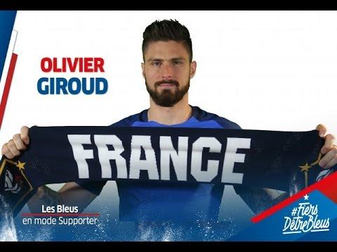Olivier Giroud dans la peau d'un supporter