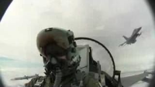 Female F 16 Pilot Over Poland