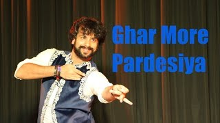 Dance on GHAR MORE PARDESIYA (Kalank)- by Devesh Mirchandani