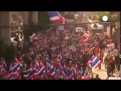 Thai protest leader says he won't obstruct general the coming election