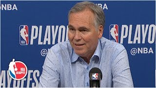 Jazz played James Harden tough – Mike D'Antoni | 2019 NBA Playoffs