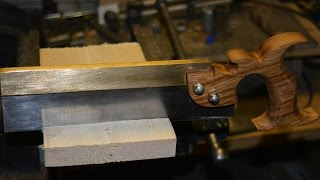 Making a Dovetail Saw
