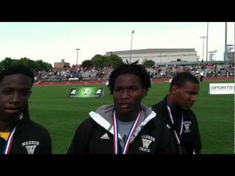 Warren G. Harding boys 4x100 relay