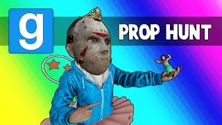 Gmod Prop Hunt Funny Moments - Halloween House! (Garry's Mod Little Hunter Edition)