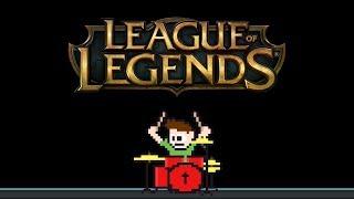 League of Legends - Legends Never Die (Blind Drum Cover) -- The8BitDrummer