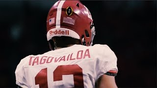 Tua Tagovailoa  | Official Alabama Highlights ᴴᴰ