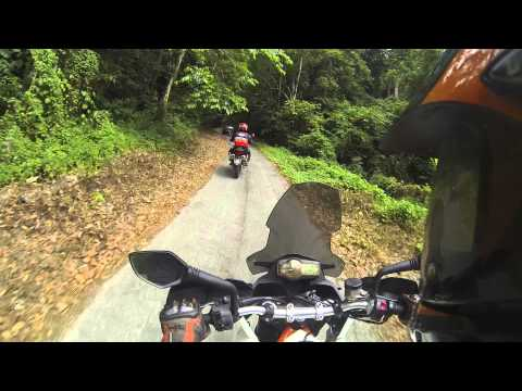 Metzeler Tourance Next TEST - Sg Pusu to Mimaland Part 2