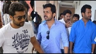 Vishal, Surya and Karthi Announced their part for Flood Releif Fund