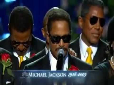 Michael Jackson Memorial - Jackson Family, Paris Jackson Speaks