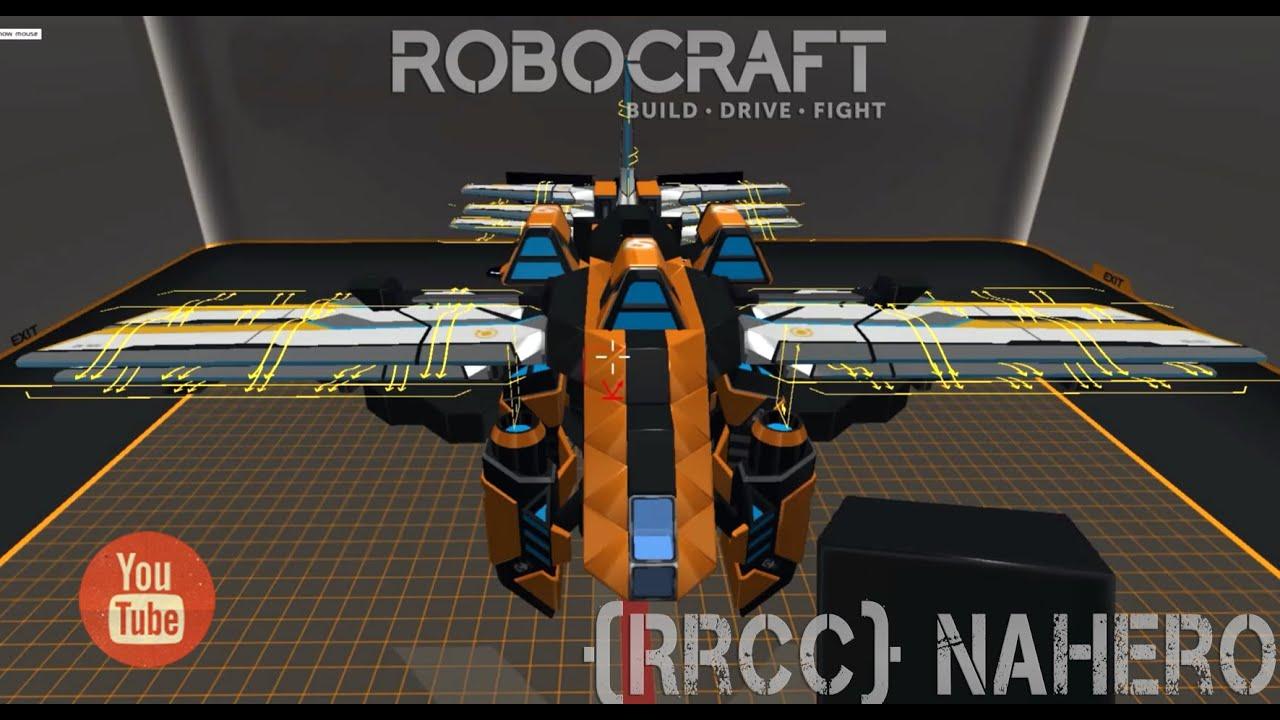 Как в робокрафте сделать самолёт