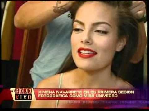 Ximena Navarrete Miss Universe 2010 Fadil Berisha Shoot Al Rojo Vivo