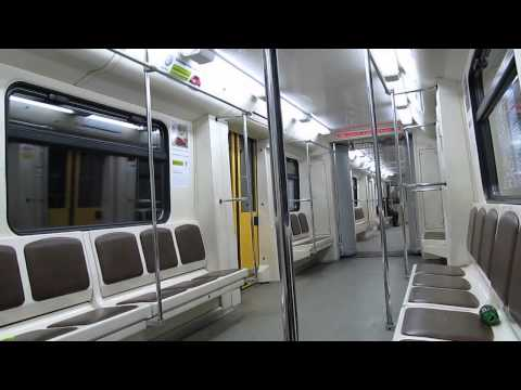 Metro Train 81-740 in Moscow 31.12.2011