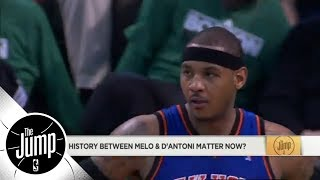 Does Carmelo Anthony and Mike D