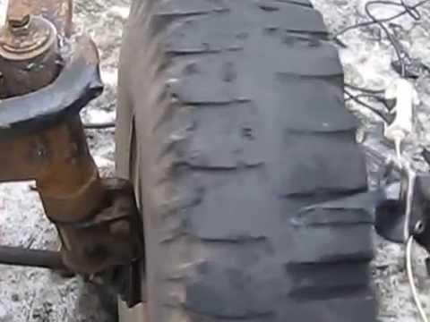 Нарезка протектора шин на уаз видео