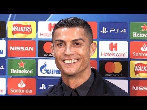 Cristiano Ronaldo Full Pre-Match Press Conference - Manchester United v Juventus - Champions League thumbnail