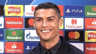 Cristiano Ronaldo Full Pre-Match Press Conference - Manchester United v Juventus - Champions League