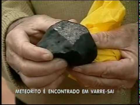 Meteorito cai em Varre-Sai/RJ
