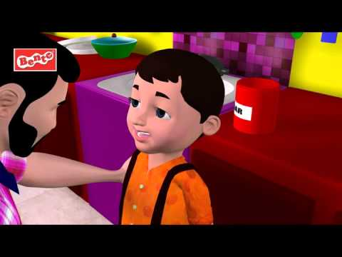 Johny Johny Yes Papa Nursery Rhyme - Kids' Songs - 3D English Rhymes For Children