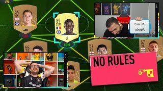 Fifa 20 Squad Builder Showdown NO RULES PRANK!!!