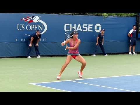 Ipek Soylu - US Open juniors 2013 - Slow motion video 02