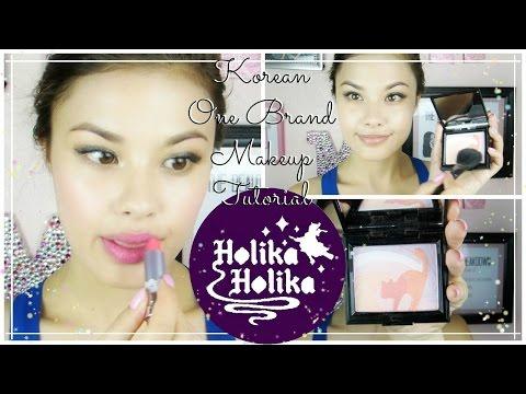 One Brand Korean Makeup Tutorial ♥ Holika Holika Plus Mini Reviews
