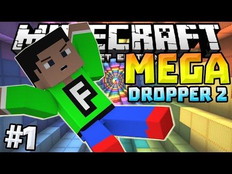 MEGA DROPPER 2 Ep. 1 - INSANE DROPPER in 0.12.0!!! - Minecraft PE (Pocket Edition)