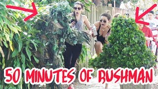BUSHMAN PRANK - 51 Minutes - Combined Episodes