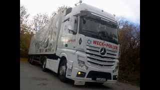 Actros mp4 Tuning