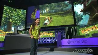 Microsoft E3 Kinectimals Demo