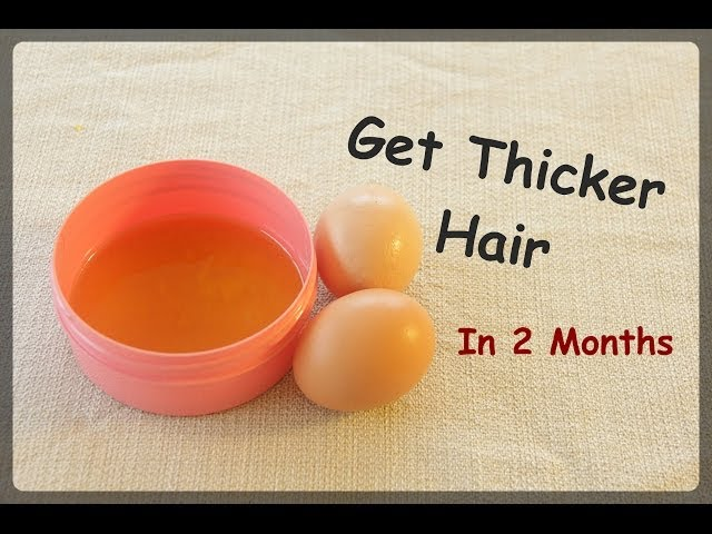 Get Thicker Hair