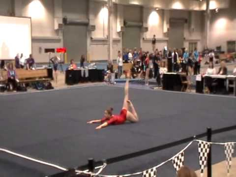Jessica Juncaj (2014) - Floor 2012 Regionals