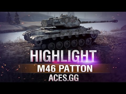Против шести.M46 Patton в World of Tanks!