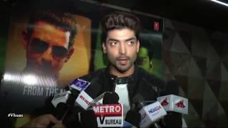 Gurmeet Choudhary Screening at Wajah Tum Ho - Bollywood Gossip 2016