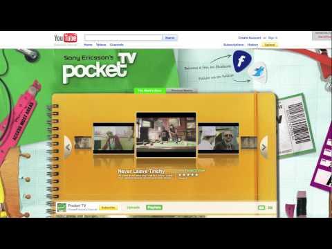 Sony Pocket Tv Brand Channel video