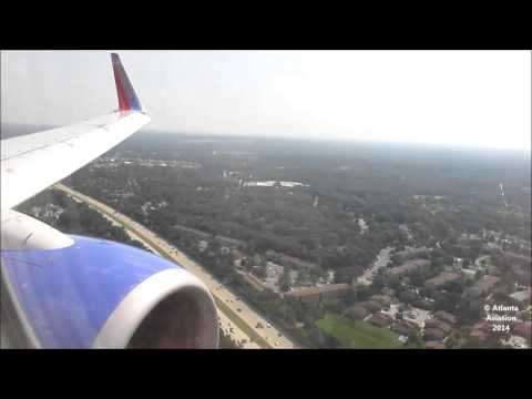 Southwest Airlines 737-7H4 [N488WN] Landing at BWI (HD)