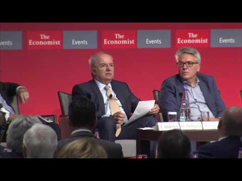 George Peristeris at The Economist 20th Greek Government Roundtable Discussion