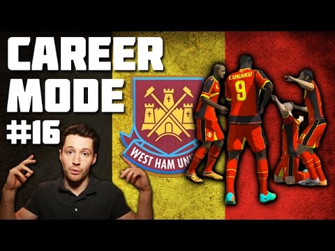 West Ham Career Mode 16 - BELGIUM WORLD CUP! - Fifa 14