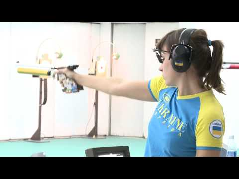 10m Air Pistol Women Interview – ISSF Rifle&Pistol World Cup Final 2012, Bangkok (UKR)